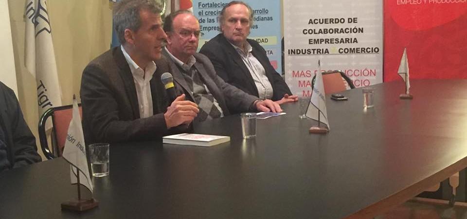 Martín Redrado en la Unión Industrial de Tigre | Unión